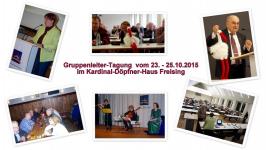 Gruppenleiter Tagung 2015
